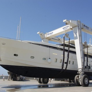 Superyacht-crane